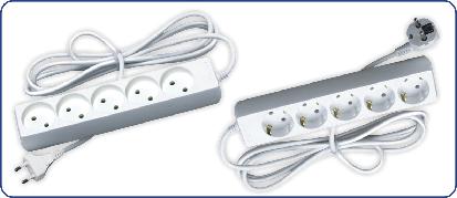 Удлинители без выключателя