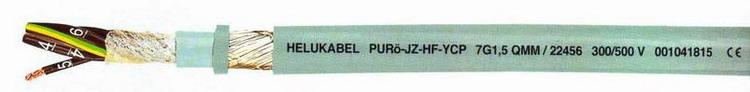 Гибкие кабели управления HELUKABEL PURO-JZ-HF-YCP