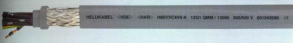 Сертифицированные VDE ПВХ-кабели управления (H)05VVC4V5-K