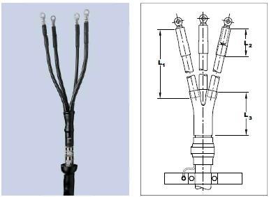 Концевые муфты для кабелей до 1кВ
