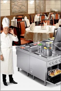 оборудование для ресторанов, кафе, столовых